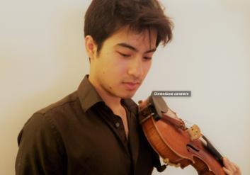 Demian Baraldi, violino