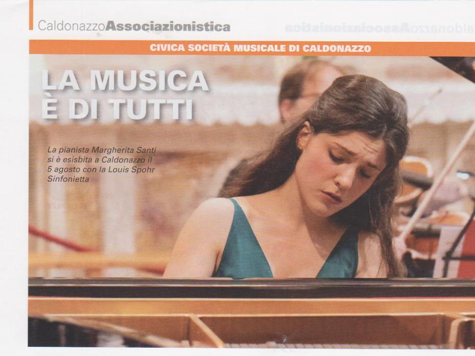 Margherita Santi pianoforte