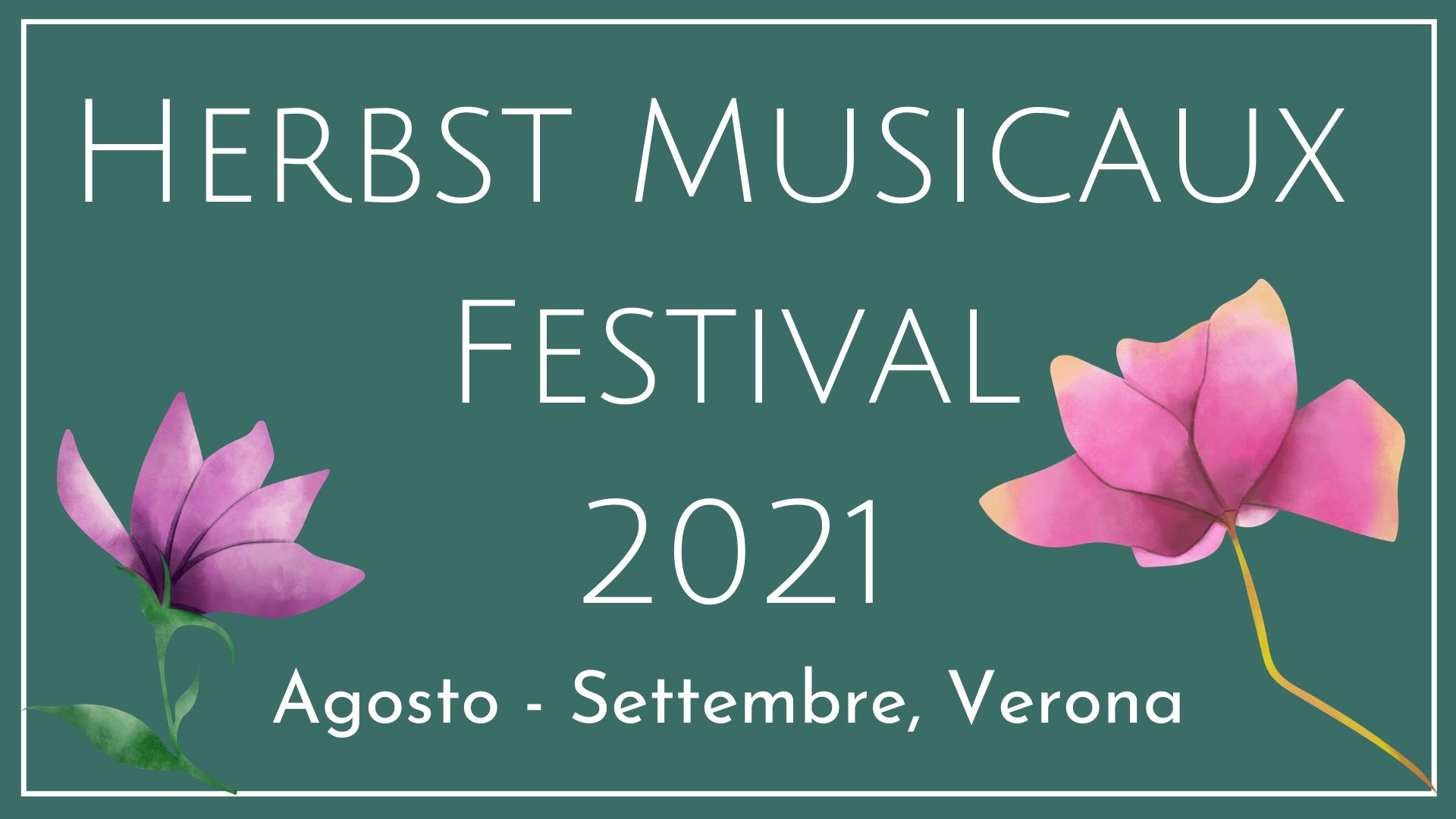 Herbst Musicaux Festival 2021